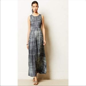 Anthropologie Neuw Shibori Maxi Dress XS